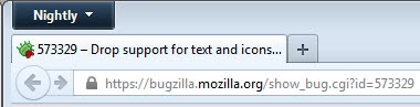 firefox icons screenshot
