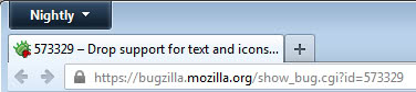 firefox small icons screenshot
