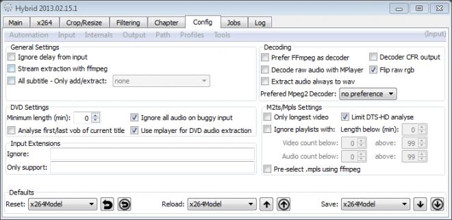 hybrid video converter screenshot
