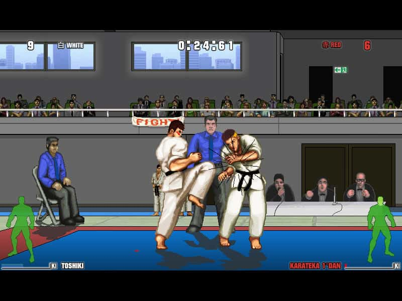 karate master game screenshot