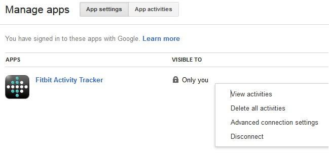 manage apps screenshot