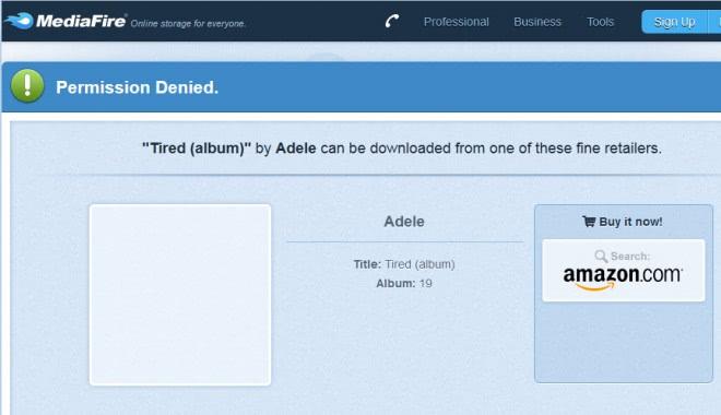 mediafire buy it now amazon screenshot