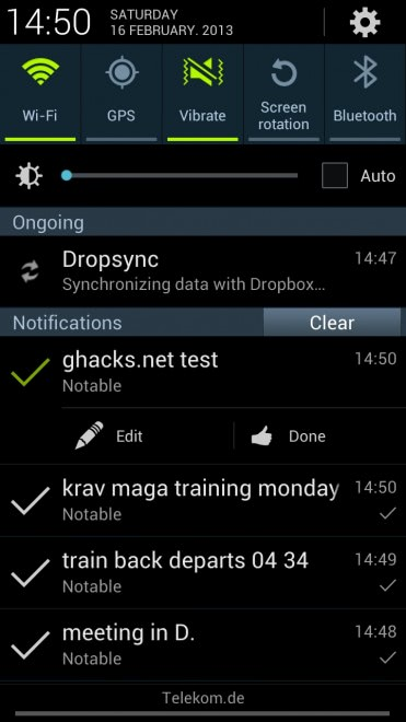 notable android note taking screenshot