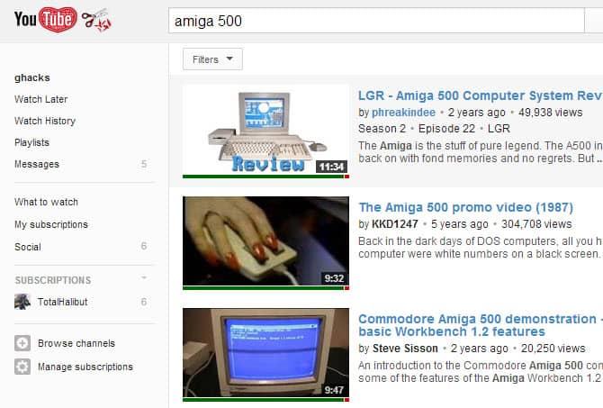 youtube video ratings preview screenshot