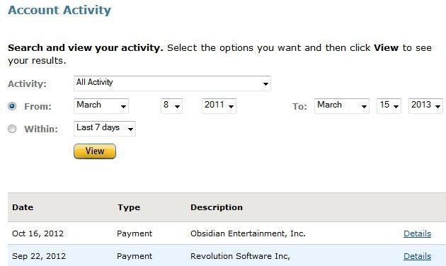 amazon payments kickstarter