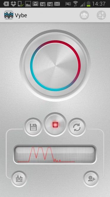 android custom vibrations screenshot