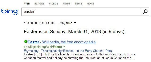 bing date search screenshot