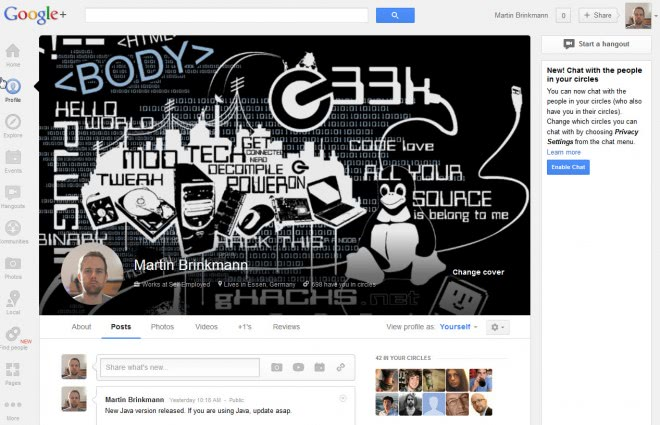 google plus cover photo big