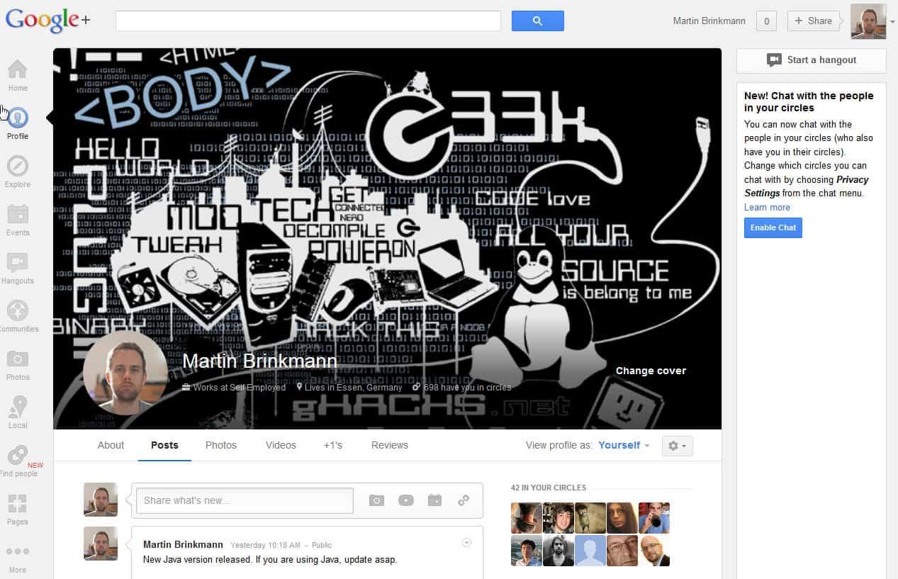 Google+ Shutdown Timeline for consumers