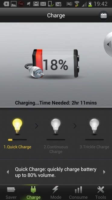 phone charging tips screen