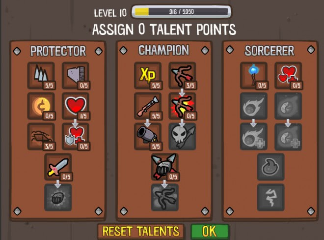 siege skill trees