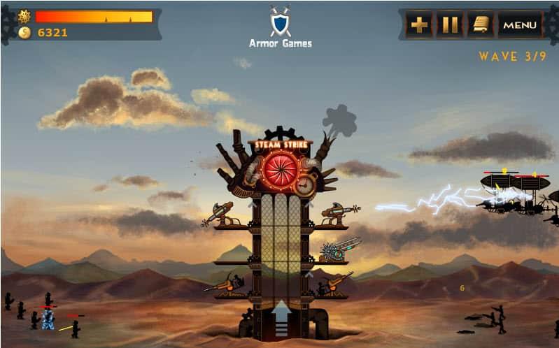 Steampunk Tower [Game Saturday] - gHacks Tech News  Steampunk Tower...