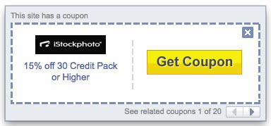 yahoo toolbar coupon