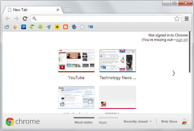 chrome bookmarks toolbar tips