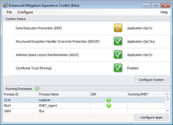 enhanced mitigation experience toolkit 4.0 interface