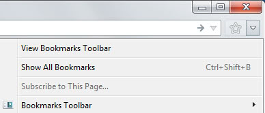 firefox new bookmarks icon