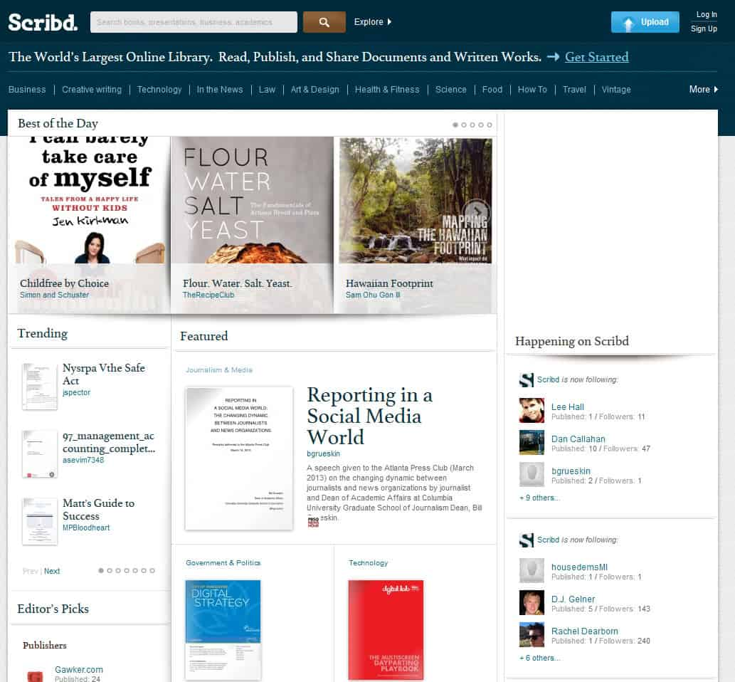 Scribd resets passwords of part of its userbase after hack - gHacks