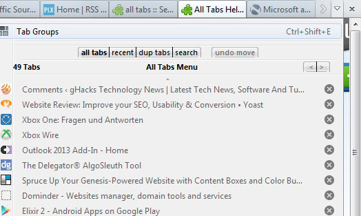 all tabs helper