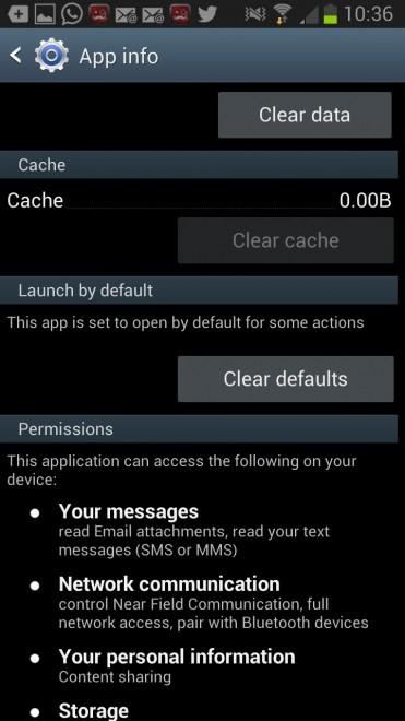 android default app handler