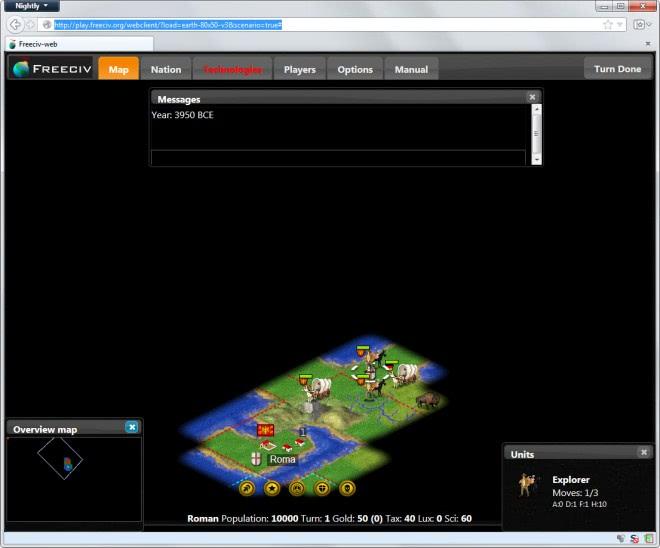 civilization web browser
