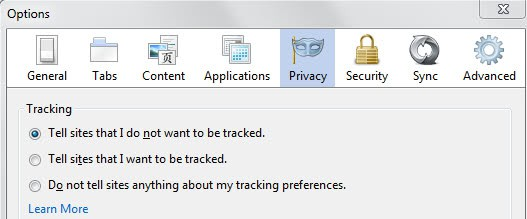 do not track changes