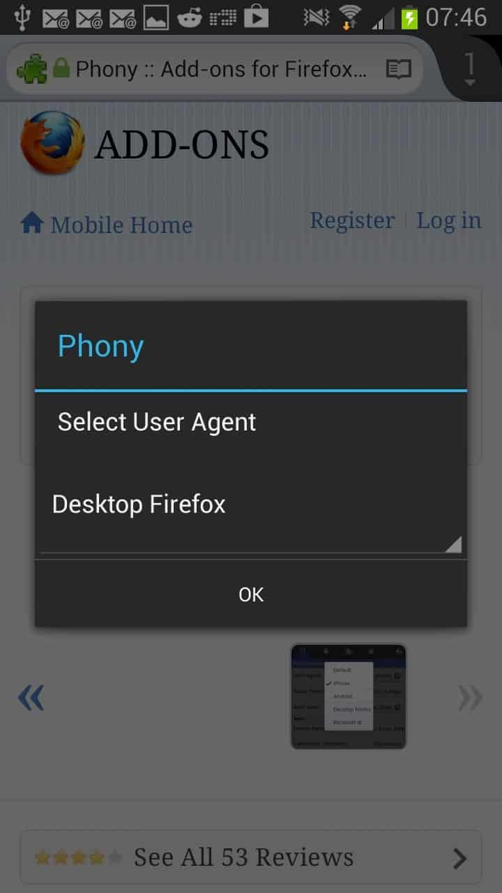 Firefox for Android supports extensions: here are some to