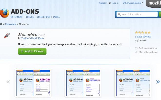 firefox standard fonts colors