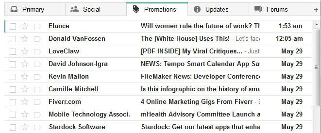 gmail new inbox