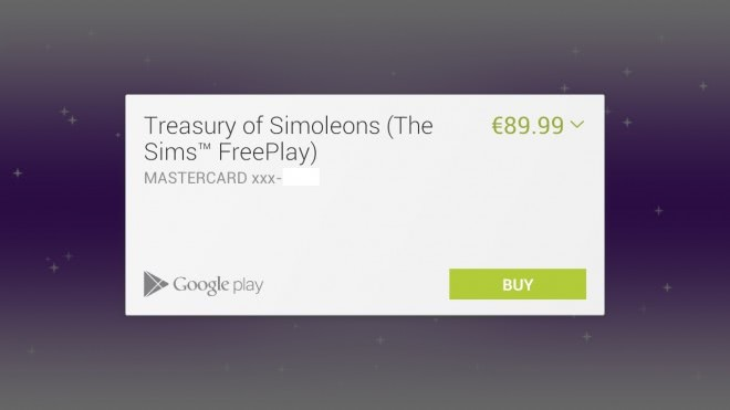 google play android in-app purchases