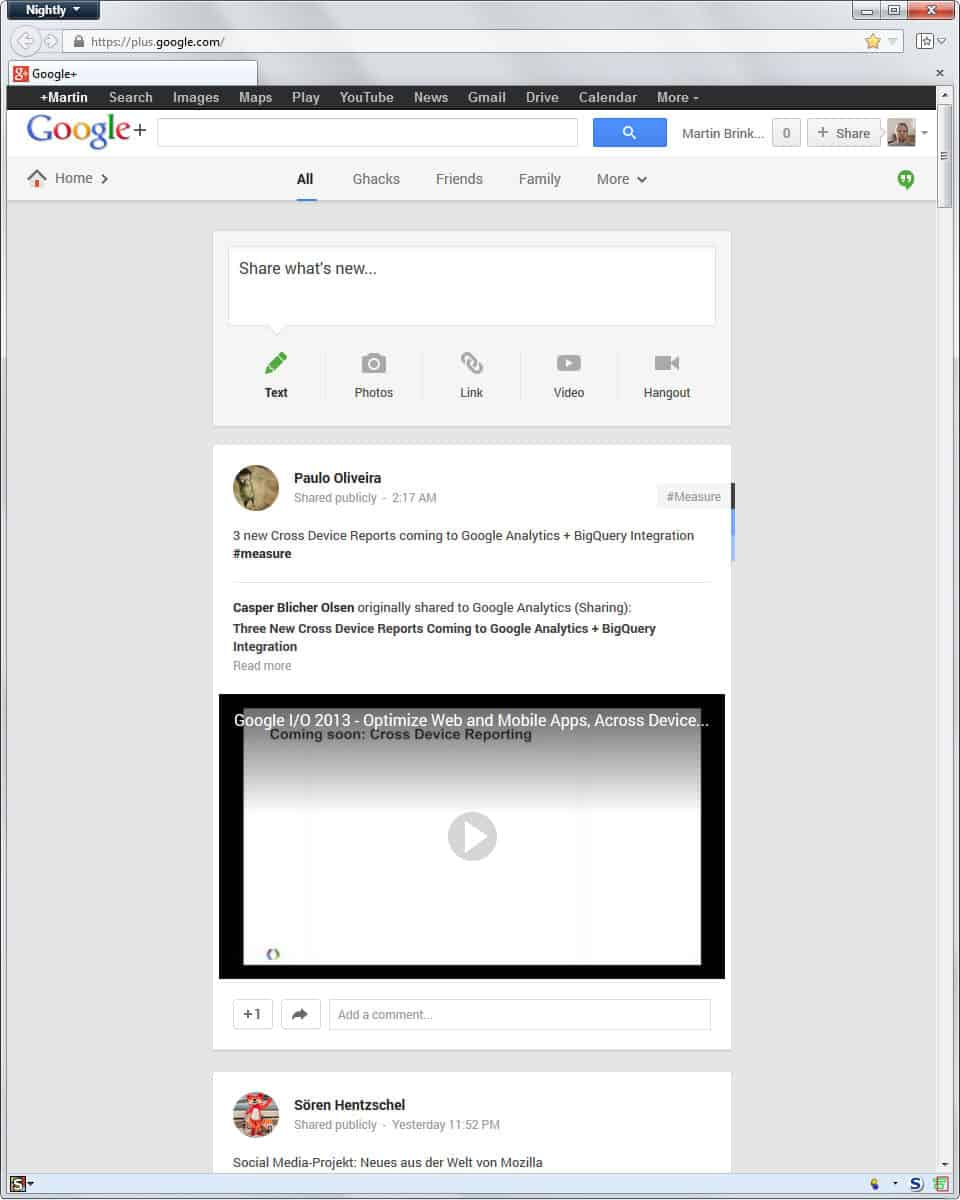 how to find out who is following you on google+