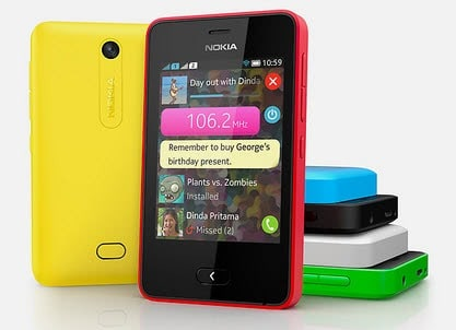 The difference between Nokia Lumia and Nokia Asha smartphones