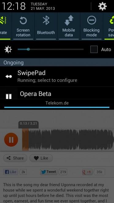 opera html5 audio