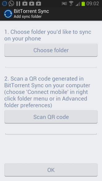 bittorrent sync android