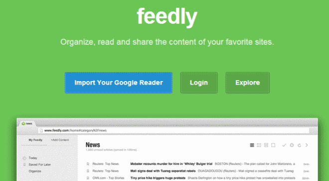 What you need to know about Feedly Cloud and its web interface