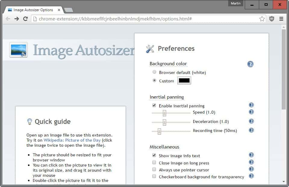 Image Autosizer for Chrome gives you better image viewing
