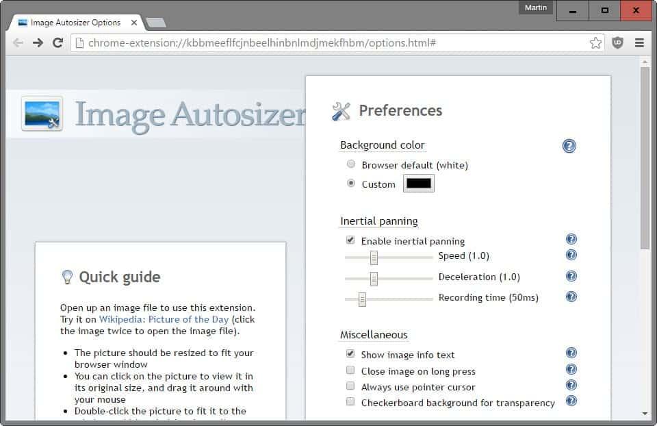 image autosizer options