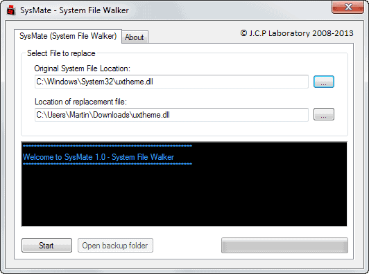 replace windows system files