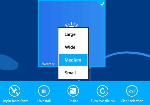 tiles windows 8.1