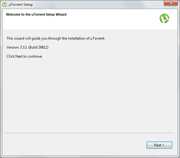 utorrent setup version