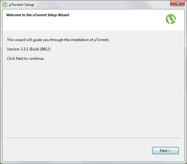 utorrent setup version