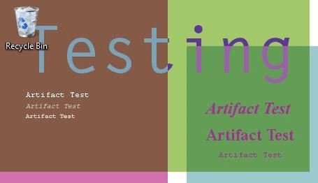 artifact test