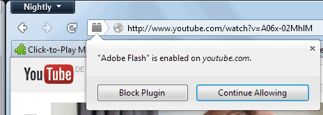 firefox click to play remove