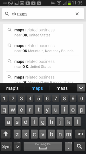 google maps save offline