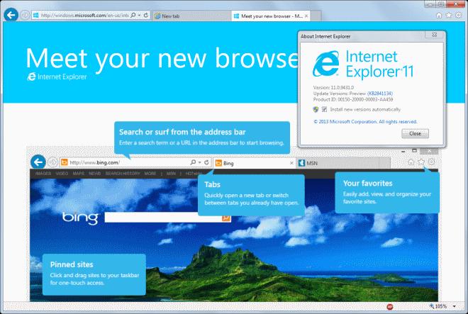 get internet explorer 11 for windows 7