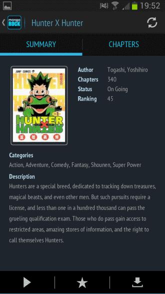 manga summary