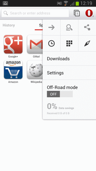 opera 15 android