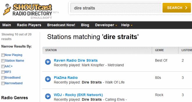 radio search