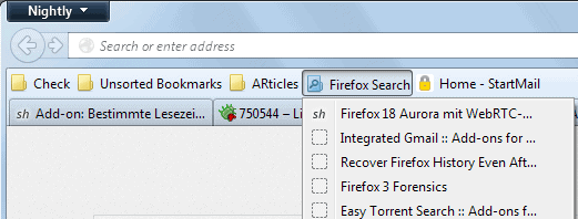 save firefox bookmarks