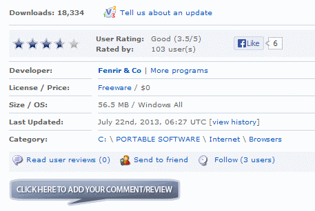 software updates