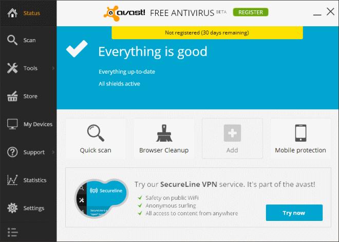 antivirus browser